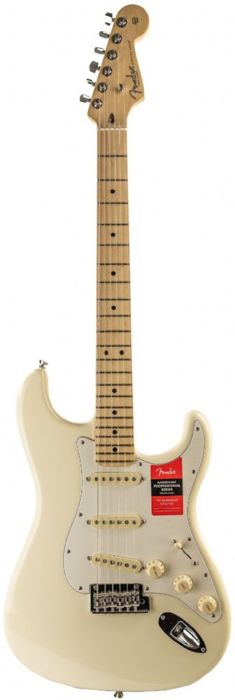 Fender American Pro Strat Olympic White Maple